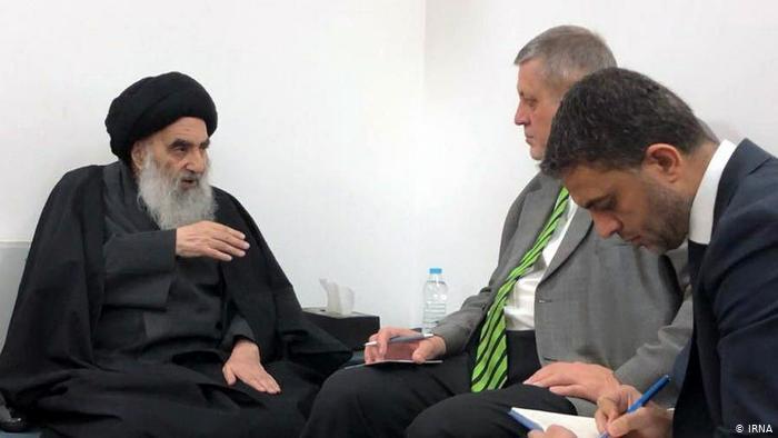 علی سیستانی مرد خدا و راه خدا که دانش است ...